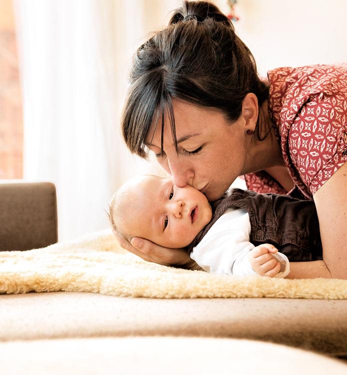Fotograf Konstanz - Baby Fotoshooting zu Hause