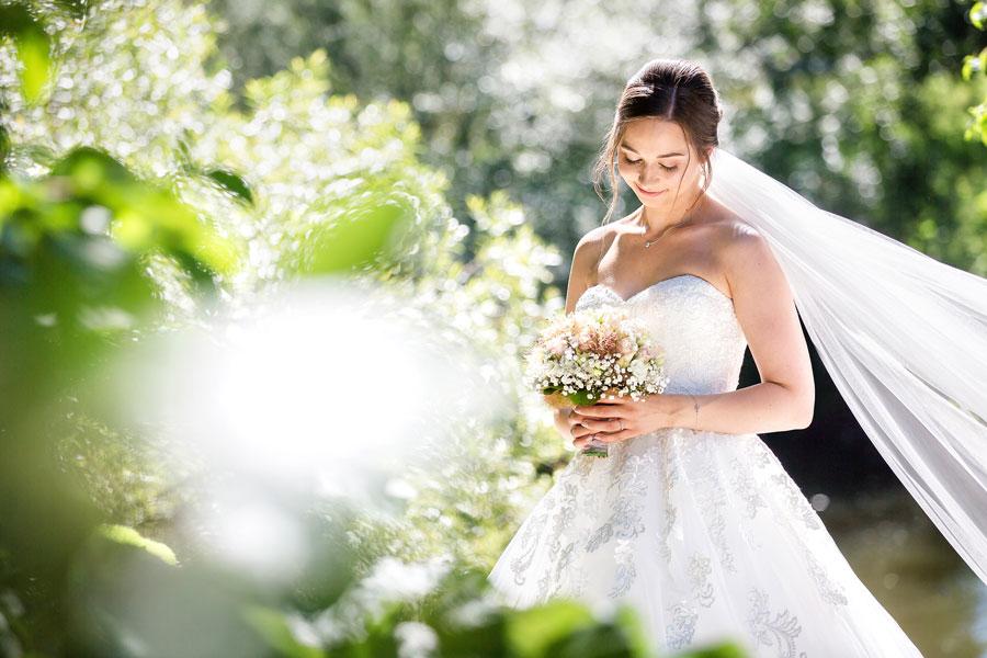 Hochzeitsfotograf Konstanz Bodensee - Braut Foto