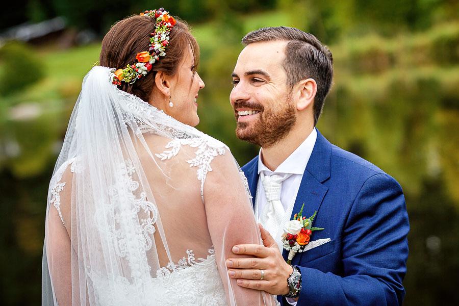 Hochzeitsfotograf Konstanz Bodensee - Verliebtes Brautpaar