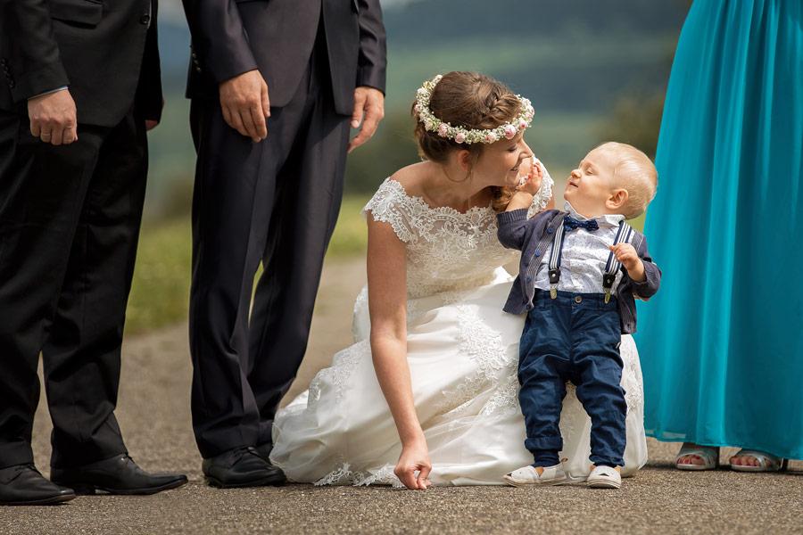 Fotograf Konstanz Hochzeit - Fotoshooting mit kleinem Sohn