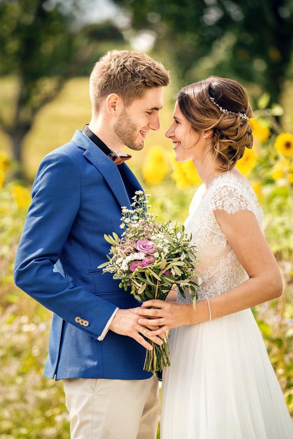 Hochzeitsfotograf Konstanz Bodensee - glückliches Brautpaar