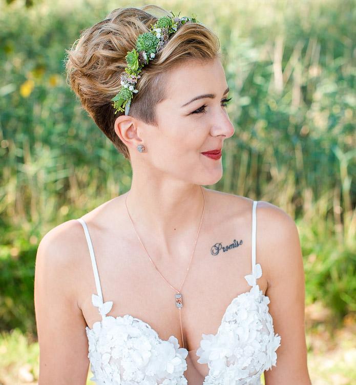 Hochzeitsfotos Konstanz - Fotoshooting Braut