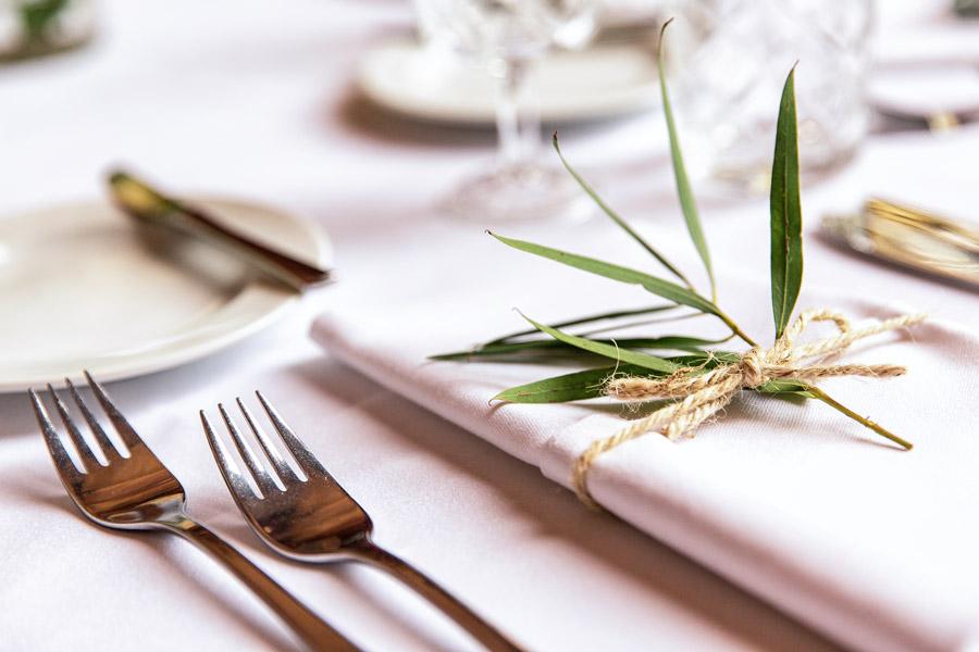 Foto Hochzeitslocation - Tischdekoration