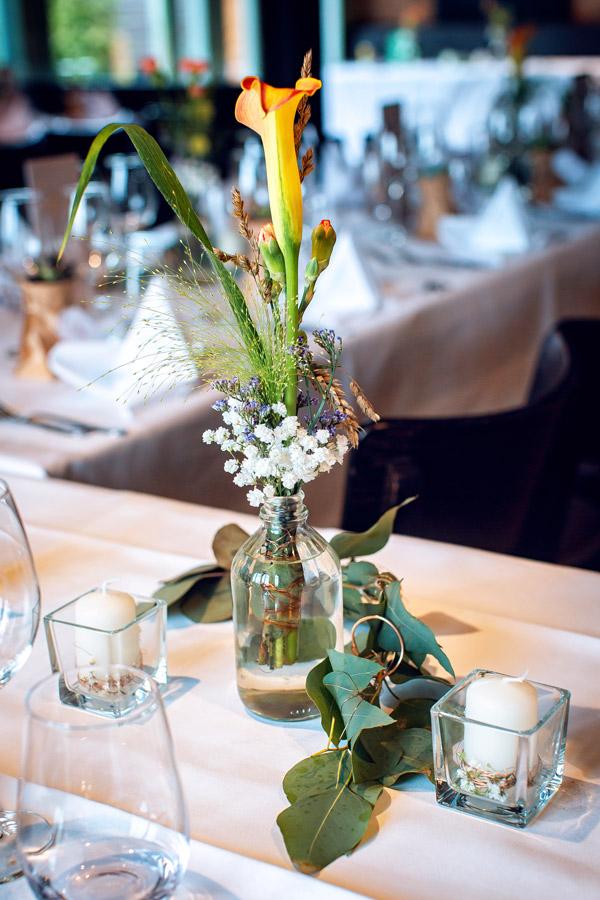Foto Hochzeitslocation Konstanz - Blumendekoration