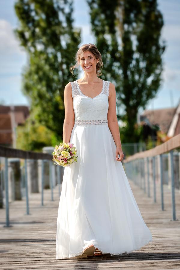 Hochzeitsfotograf Konstanz Bodensee - Portrait Braut