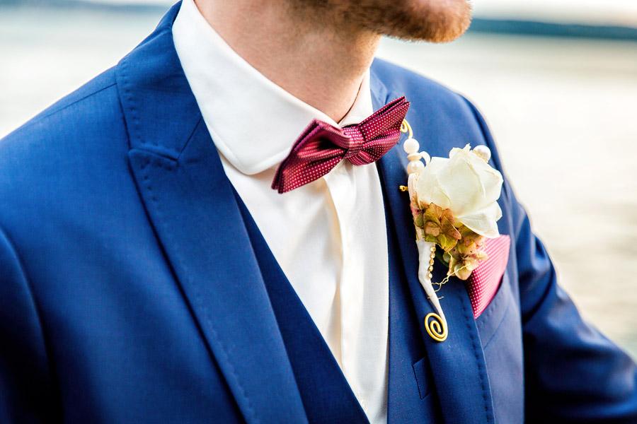 Hochzeitsfoto Konstanz - Anzug des Bräutigams