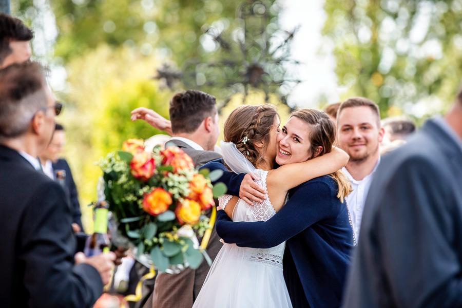 Fotograf Konstanz Hochzeit - Umarmung