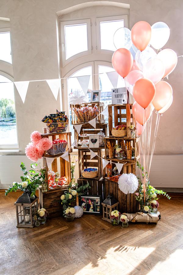 Foto Hochzeitslocation Konstanz - Candybar
