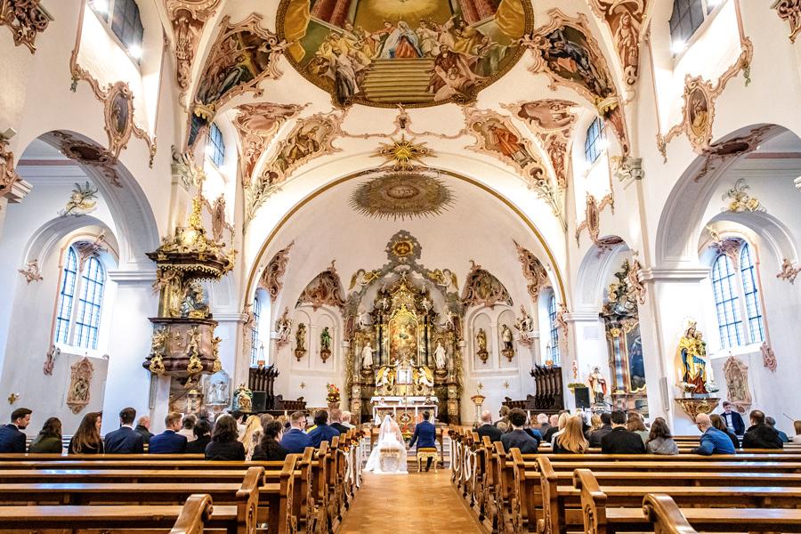 Fotograf Konstanz Hochzeit - Kirchliche Trauung